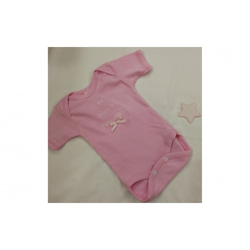 Personalised Baby Suit-Pink