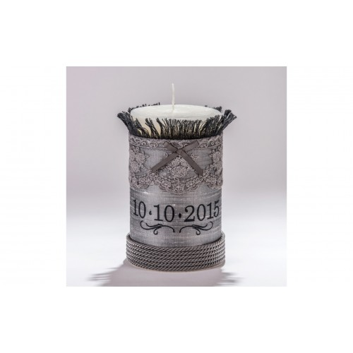 Decorative Candle with Date C.1220.065.0312