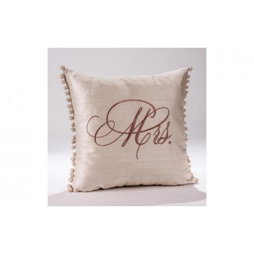 "Decorative Pillow ""Mrs"" P.4040.040.0334"