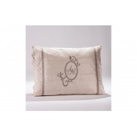 Decorative Pillow with monograms