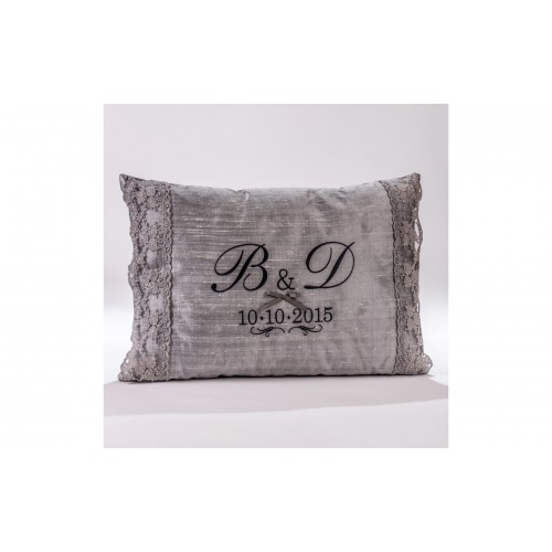 Decorative Pillow with monograms P.5035.045.0313