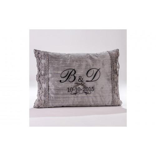 Decorative Pillow with monograms P.5035.045.0313