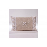 Decorative Pillow with monograms P.5030.038.0310