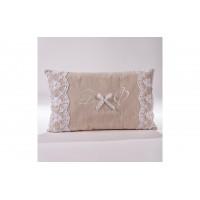 Decorative Pillow with monograms P.5030.038.0310