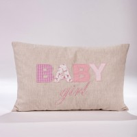"Decorative pillow ""Baby girl""  P.4228.030.349girl"