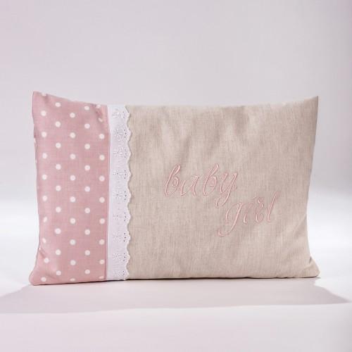 "Decorative Pillow ""Baby girl"" P.4228.030.0355"