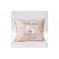 """Decorative pillow """"Welcome"""""""